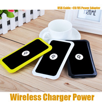 Wireless Charger Pad For Nokia Lumia 920/928 LG Nexus 4/7 HTC 8X  Samsung Iphone USB Port EU/US Adapter Free Shipping