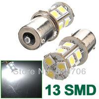 10pcs 1156 BA15S 7506 7527 13 LED 5050 SMD Tail Signal White Light Bulb Lamp