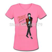 T Shirts for Women Michael Jackson Dancing Free Shipping
