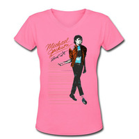 T Shirts for Women Michael Jackson Dancing Free Shipping