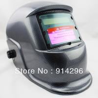 Fully Automatic Solar Auto Darkening Black carbon fiber MIG Tig Arc MAG Welding Helmet Mask