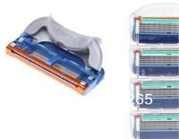 Free Shipping(8pcs/lot)+Factory price+Razor Blades,F4S Original package,high Quality Shaving razor blade for men