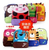 Wholesale New Arrivals 1PCS Children Animal Cartoon Schoolbag Kindergarten Pupils Canvas School Bag High Quality Free shipping