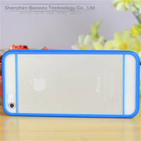 100pieces/lot,Newly listed Hybrid Gummy PC/TPU Slim Protective Case for iPhone 5 5S,Free Drop Shipping
