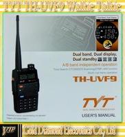 TYT TH-UVF9 Two band dual display 5 Watts walkie talkie  two way radio 2pcs/lot free shipping