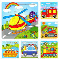 promotion!!!! 1 piece sell Puzzles toys wooden puzzle animal puzzle small jigsaw puzzle for 0 1 2 3 4 5 years old