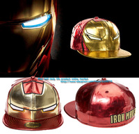 wholesale free shipping 2013 Fashion Hip hop cap, running man iron man city boy hip-hop flat eaves baseball hat