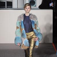Luxurious Genuine Fox  Fur Outerwear Nature  Raccon Fur Coat Women Fur  Jacket   TP9021