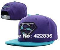 New arrival Superman Zebra Snapback hats cheap mens women soprts adjustable baseball caps 18 styles hip-hop cap Free Shipping