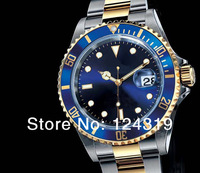 Men's top brand automatic self wind watch stainless steel men mechanical dive watches RL04
