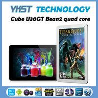 Free Shipping Cube U30GT2 RK3188 Quad Core 10.1inch Retina IPS Screen Android 4.1 2GB RAM 32GB U30GT 2 Tablet PC