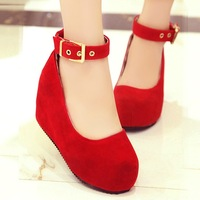 Free shipping new 2013 fashion hasp flats women shoes wedges women's shoes designer shoes for women
