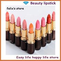 new 2014 Cosmetic brand makeup 5pcs/lot matte lipstick rouge make up lip stick free shipping H1008