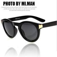 2013 Fashion Korean Star Sunglasses Mens Womens Designer Sunglasses Retro Black Best Psy Gangnam Style Sunglasses Free Shipping