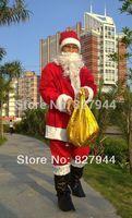 Santa Adult Men's Costume Suit dress for Christmas Dress Santa Adult clothes