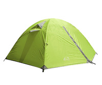 Good Quality Double Layer 2 Person Aluminum Rod Outdoor Camping Tent