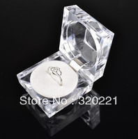 shipping way you choose ,Hot Sale Jewelry Package,Ring Box,Clear Jewelry Box Hot Sale  100pc/lot