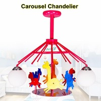 Creative Kids love merry bedroom with den chandelier lighting, electricity can be rotated