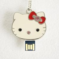Best Selling hello kitty usb flash drive Usb 2.0 2gb 4gb 8gb 16gb 32gb Usb Pendrive F-H079 with Free shipping
