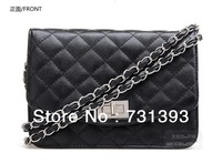 Women's PU Leather Diamond lattice design plaid channel style Quilted Bag Shoulder Bag,channel style Quilted Bags 262