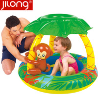 Jilong little monkey child inflatable child pool 120*120*80cm pool