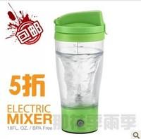 450ML 2 color Protein powder shake cup automatic jar baby milk powder mixer electric fruit juice milkshake cup,free shopping