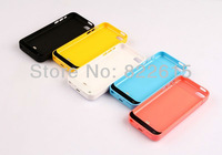 New 2200mAh Emergency External Backup Battery Case Cover Portable Charger with Stand for iPhone 5C 5 C
