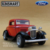 Free shipping Ford 1932 webworm soft world WARRIOR alloy car toys nostalgic cars model