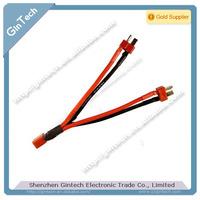 2pcs/lot Apm 2.5 battery cable dean y cable