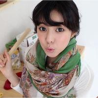 15% off Fresh cashew big size  scarf/ winter female cotton voile  shawl /beach mufflers