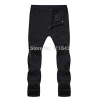 2014 Camel brand men's winter warm Trousers breathable waterproof outdoor camping hiking climbing pants men fleece Trousers