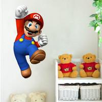 Nine nine cartoon Mario super Mario 90310 children room wall Super Mary