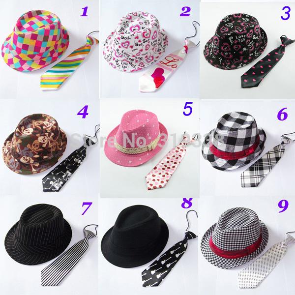 шапка для мальчиков qiaran fedora 10pcs lot fedoras Шапка для мальчиков N/A Fedora 10set BH234