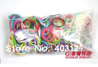 10 packs/lot Hot Sell Rainbow Loom Rubber Band Loom Band Loom Bracelet (300bands+ 12 S-Clips/Pack)--LB103/Free shipping