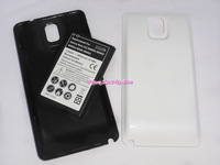 New 6800mAh extended cell phone battery with back cover case for Samsung galaxy note 3 N9000 N9002 N900A N9005