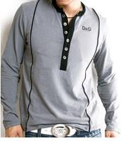 2014 moletom shirt men long sleeve mens designer bike T Shirt Patchwork Cotton Male's Tees Sport Brand Boys' Tops Size:M-XXL