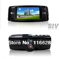 Free shipping GS600 Car black box camera GPS night vison car video camera recorder Full HD car DVR