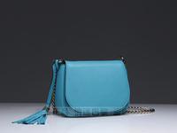 free shipping 2013 new arrival 100% high quality imported genuine leather hand made soho tote handbag famous designer soho bag