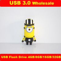 Minion Usb Flash Drive 2 GB 4GB Me Pen Drive 8GB 16GB 32GB Usb 3.0 Bart Simpson Custom Gifts