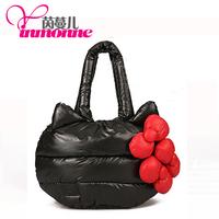 Spring items  new cosmetic bag lovely HelloKitty bag leather bag fashion Korean cosmetic bag cute girl handbag free postage