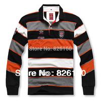 2014 New Spring Men Long Sleeve Polo Shirt Casual Stripe Polo For Men Big Size XL XXL XXXL 4XL 5XL 6XL 7XL 8XL