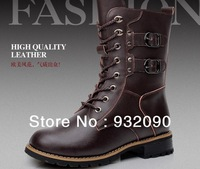 Genuine leather in boots female boots Rivet