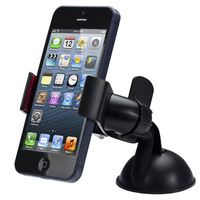 New Universal Car Windshield Mount Holder For iPhone 5 for 4S , Good  Mobile Stand Bracket GPS MP3 MP4 for Samsung