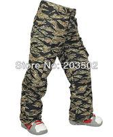 new mens Burton waterproof windproof thermal camouflage snowboarding ski pants winter outdoor sports trousers ski jupon