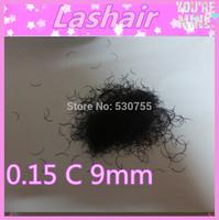 eyelash eye lashes korean makeup eyelashes 9mm 0.15 C