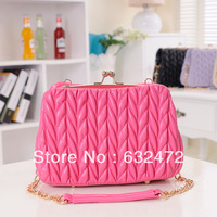 Daphne 2013 autumn new arrival women's handbag messenger bag fashion trend of the elegant bag plaid chain bag
