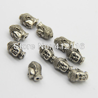 Wholesale Free Shipping 50pcs/lot Prayer Antique Buddha Lucky Charms Beads Jewelry, 2013 New Style Beads