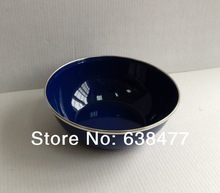 Free Shpping new fashion Enamel Bowl  salver soup bowl  pot 15.2x5.2cm  3pcs/lot(China (Mainland))