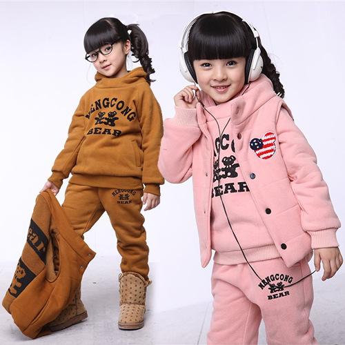 Аутентичные корейских девочек зимняя одежда хлопка