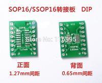 Free shipping 50pcs Sop16 ssop16 tssop16 in42patients dip 0.65/ 1.27mm keysets universal board